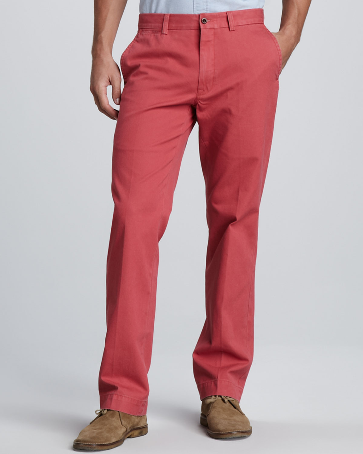 Polo Ralph Lauren Suffield Twill Pants In Red For Men Lyst