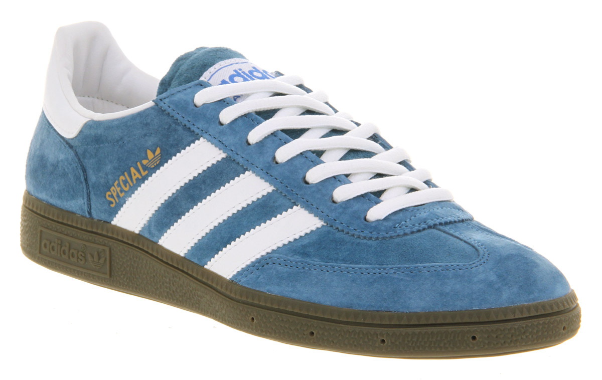 adidas handball spezial blurun wht in blue for men lyst. Black Bedroom Furniture Sets. Home Design Ideas