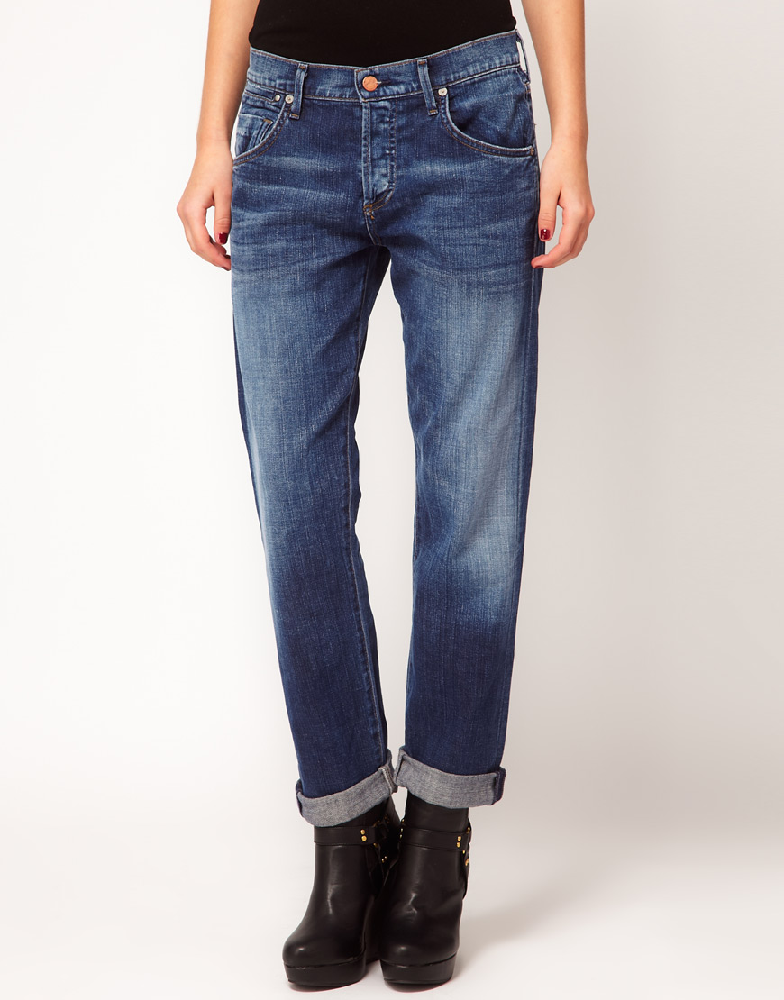 Citizens of humanity Dylan Relaxed Tapered Boyfriend Jeans in ...