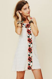 Free People Fp New Romantics Jitterbug Shift Dress - Lyst