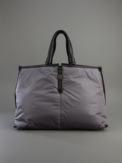 Moncler Amelie Tote in Grey (Grey)