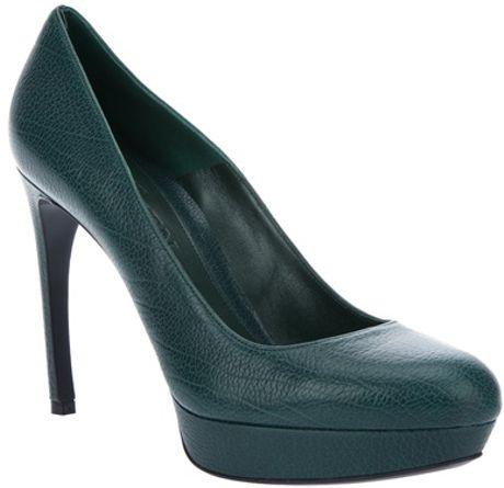 Alexander Mcqueen Court Shoe in Green