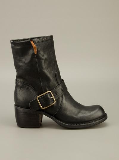 Fiorentini + Baker Mix Mellow Boot in Black