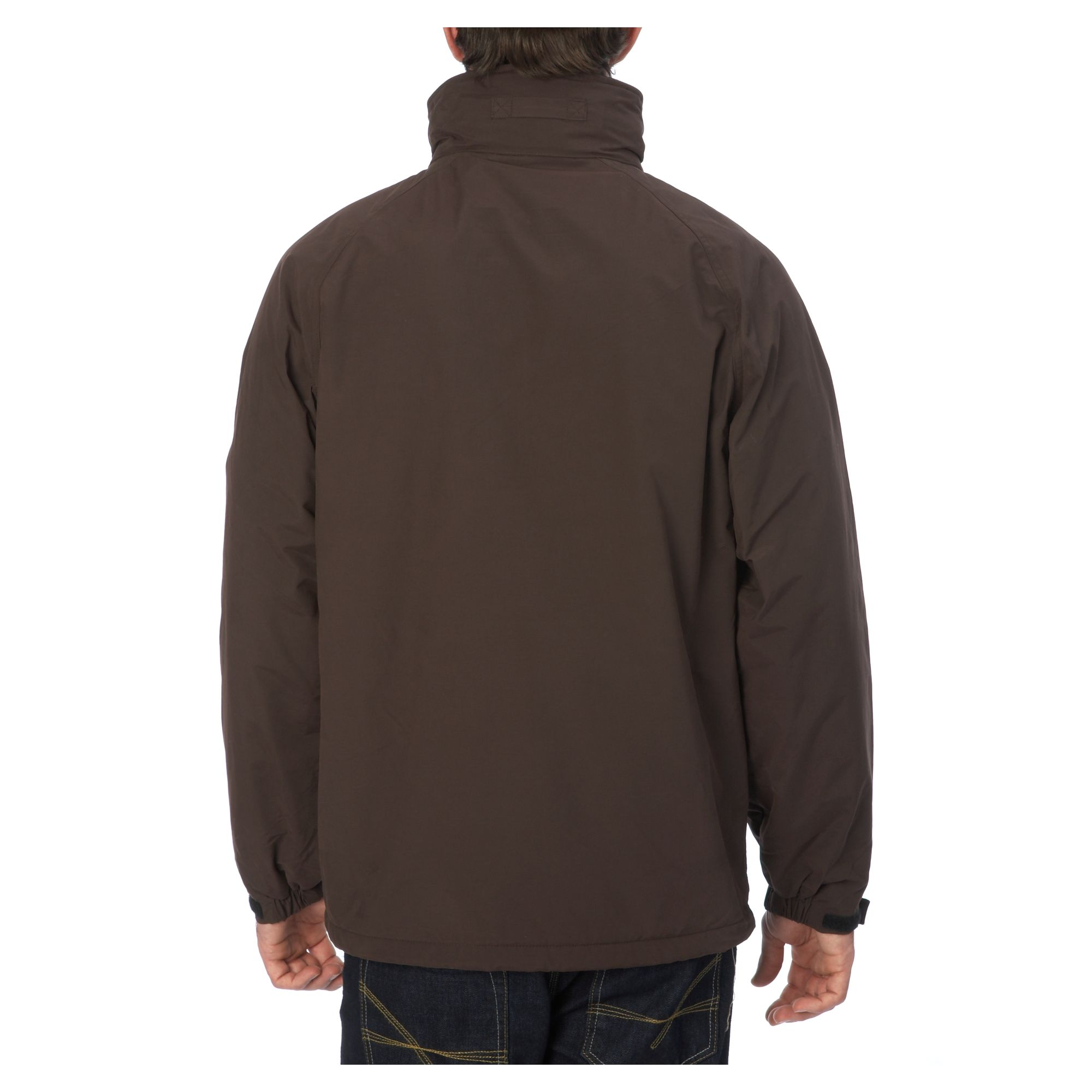 lyst gant casual jacket in brown for men
