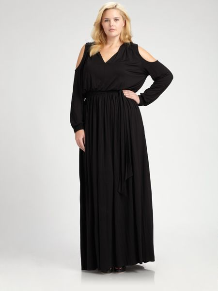 Rachel pally salon z neptune jersey maxi dress in black for 66 nail salon neptune nj