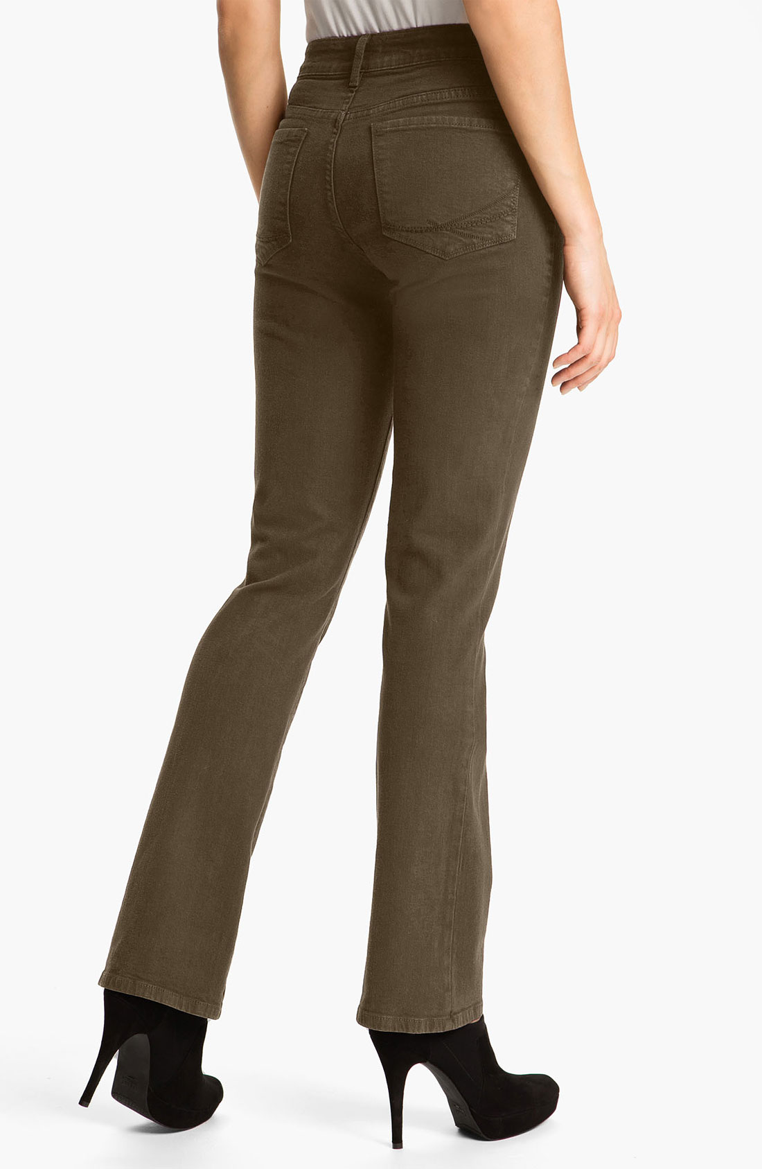 Not your daughter's jeans Nydj Barbara Colored Denim Bootcut Jeans ...