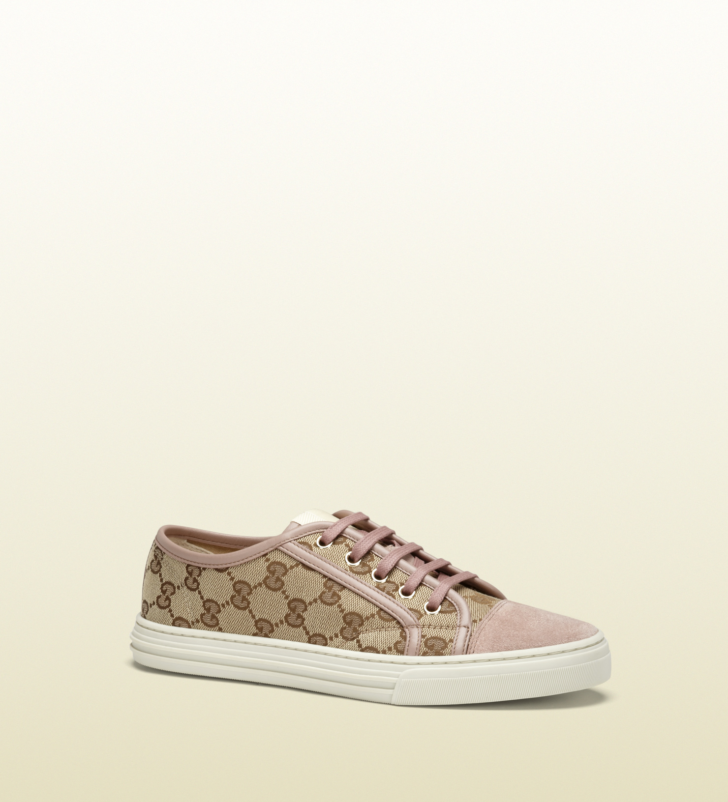 Pink Gucci Tennis Shoes