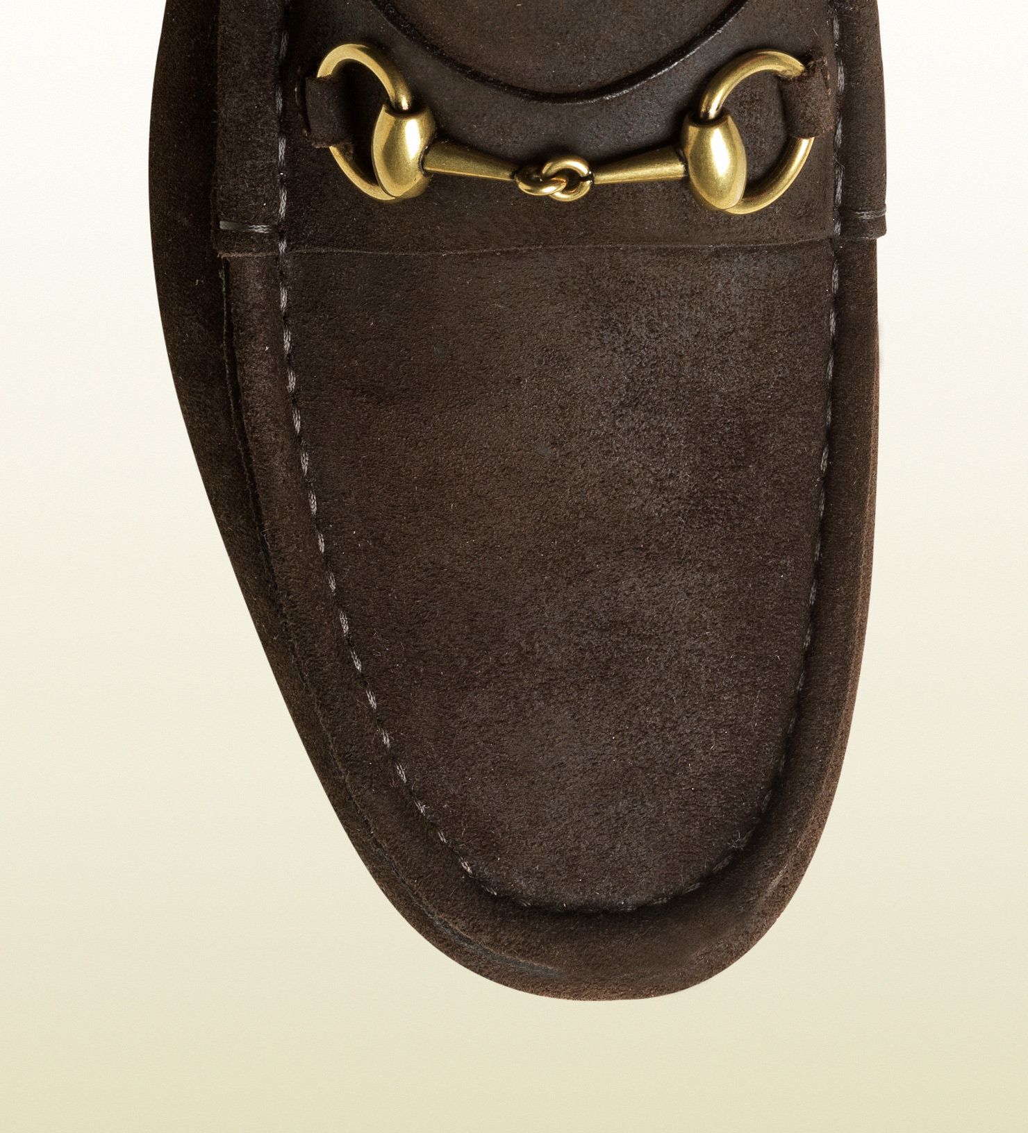Gucci 1953 Horsebit Loafer In Suede In Brown For Men Lyst