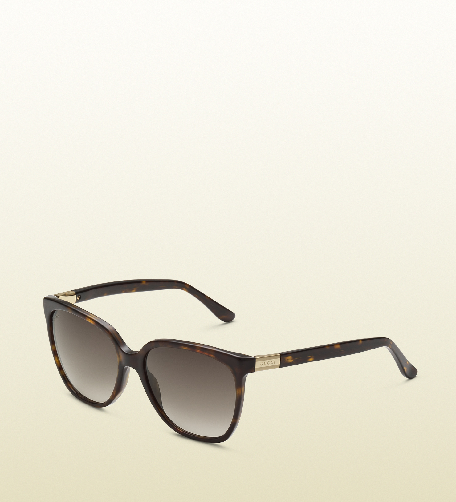 044783900c1 Gucci Black Rectangle Wayfarer Sunglasses