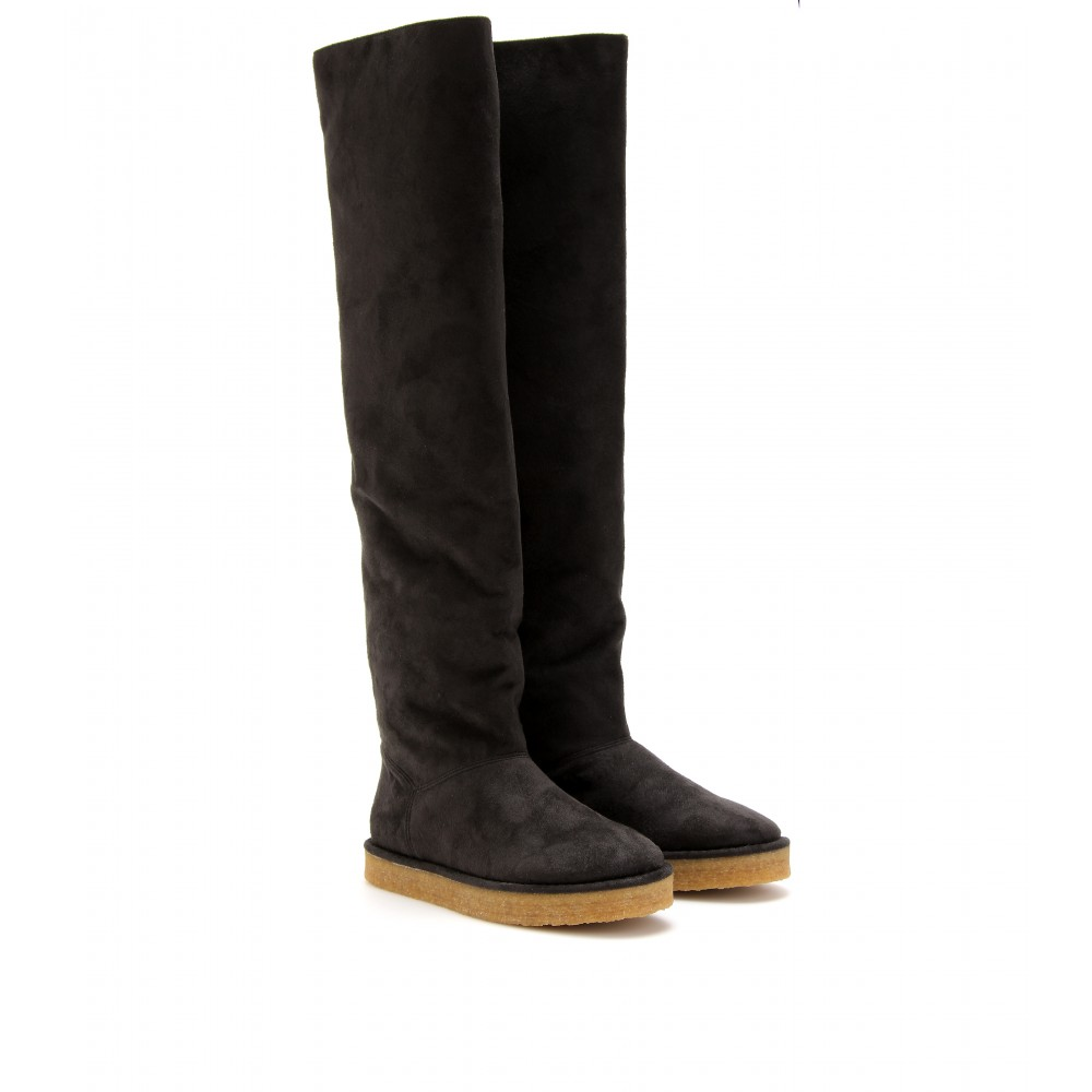 stella mccartney kickapoo faux suede the knee boots