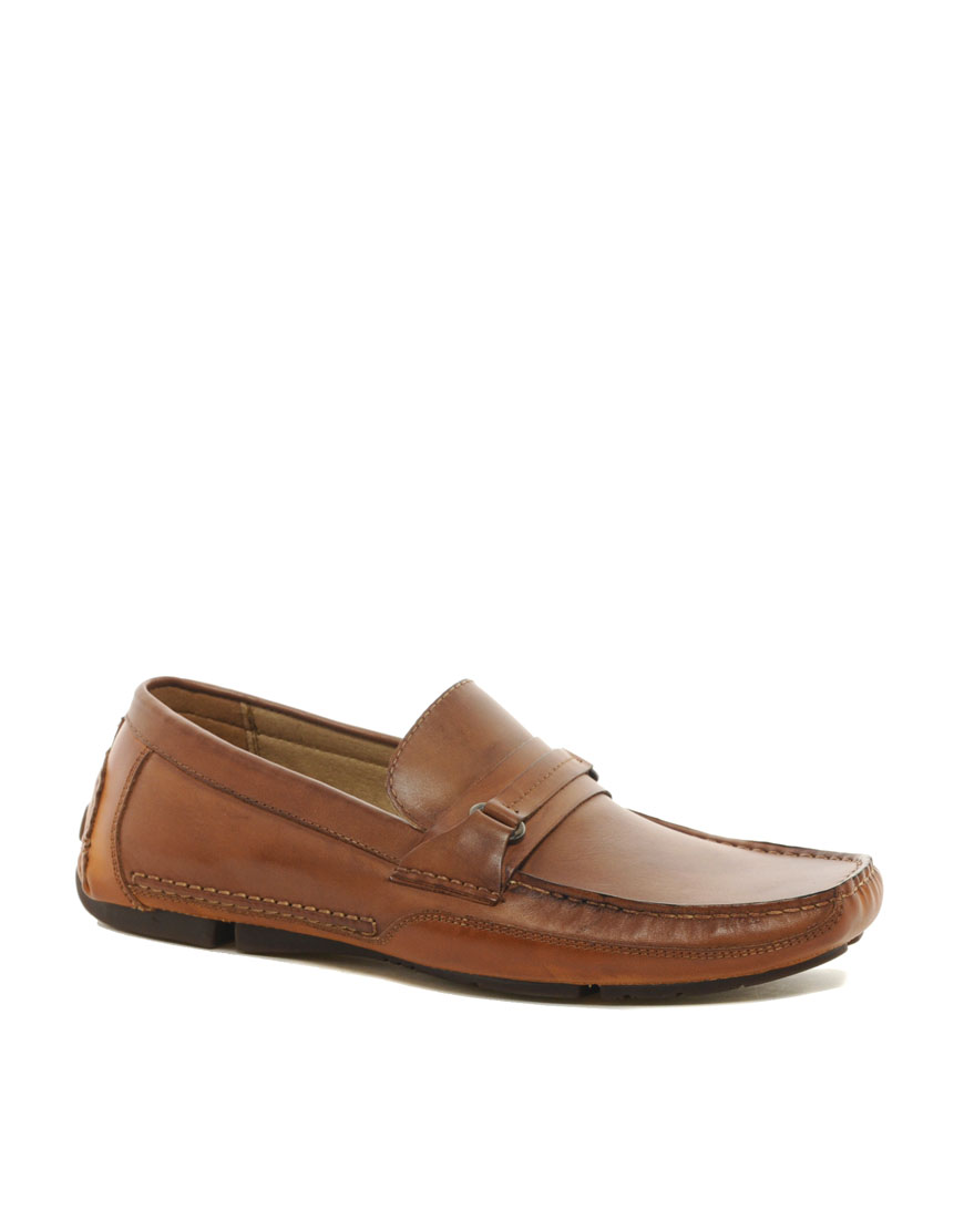 aldo oliveros driving shoes in brown for lyst