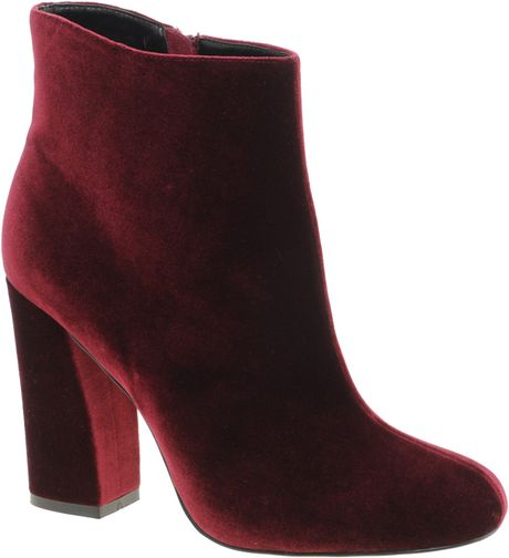 Asos Asos Apollo Ankle Boots in Red (oxblood)