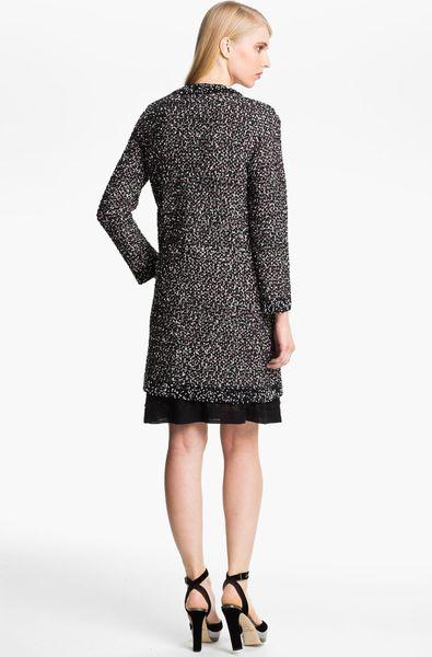 M Missoni Boucl 233 Knit Coat In Black Lyst