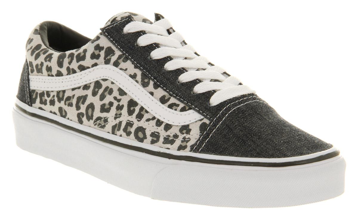 b678059a88 Lyst - Vans Old Skool Grey Snow Leopard in Gray for Men
