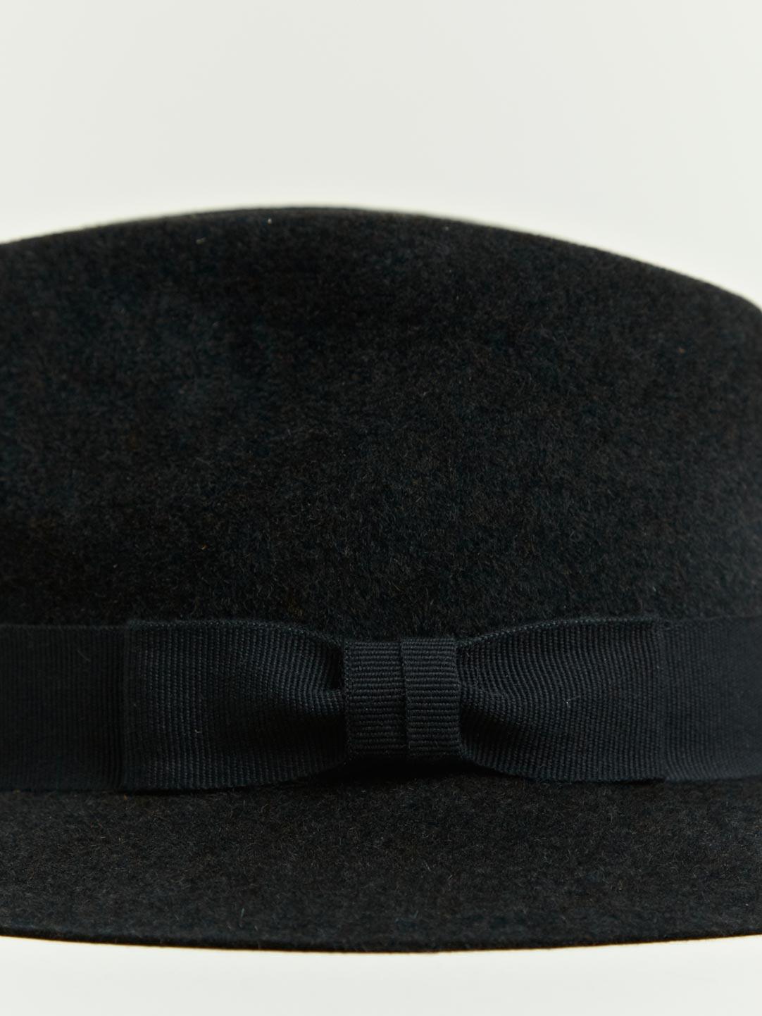 Lanvin Shape Rabbit Felt Hat In Black For Men Lyst