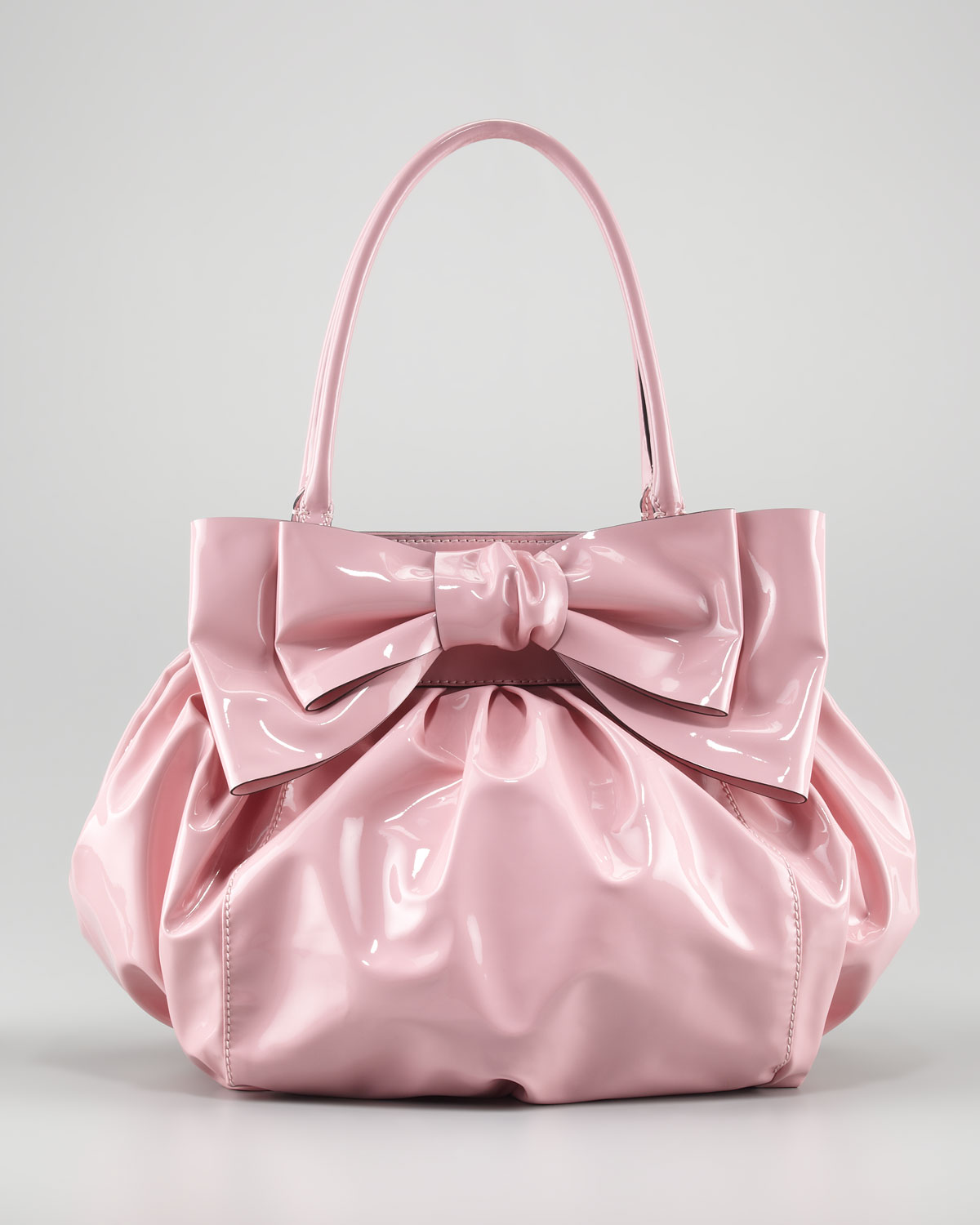 Doublehandle Lacca Bow Bag