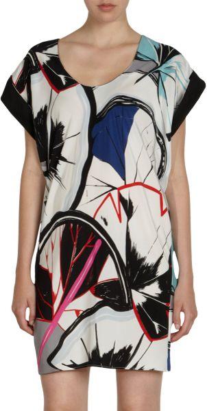 Balenciaga Celestial Dress in Multicolor (multi) - Lyst