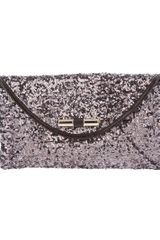 Jimmy Choo Sequin Embellished Clutch