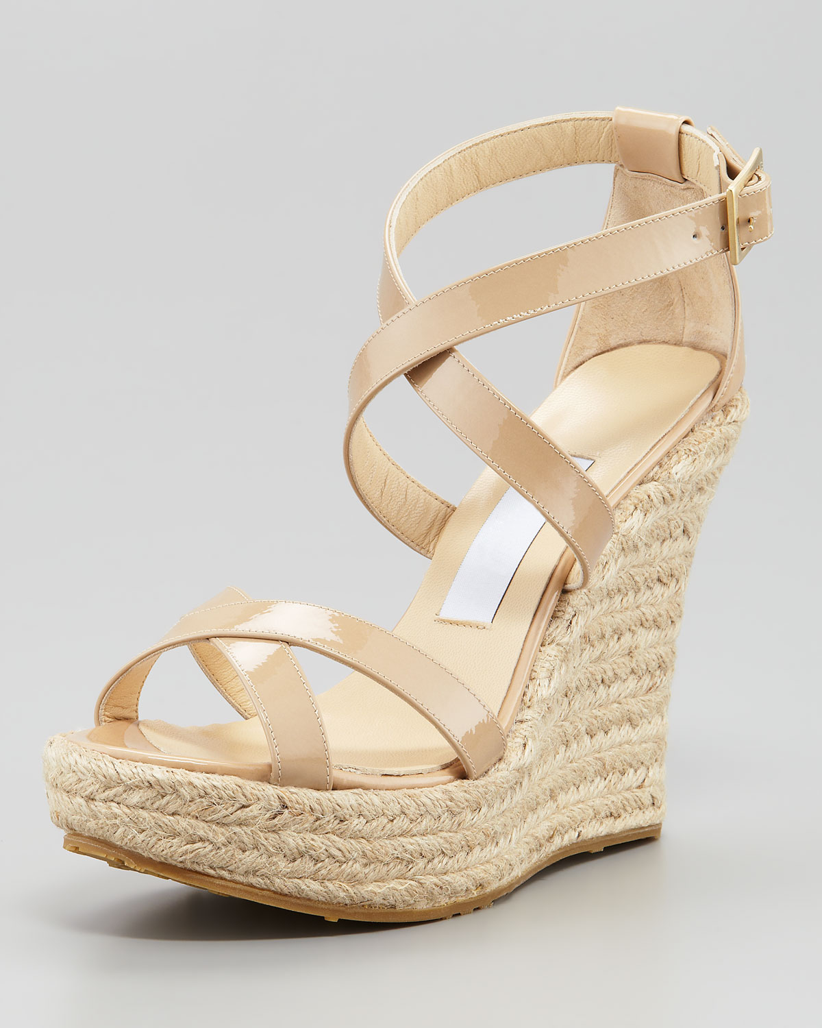 Jimmy Choo Crossover Espadrille Sandals cheap sale how much free shipping lowest price cheap many kinds of sale really outlet ebay 7fLblg989c