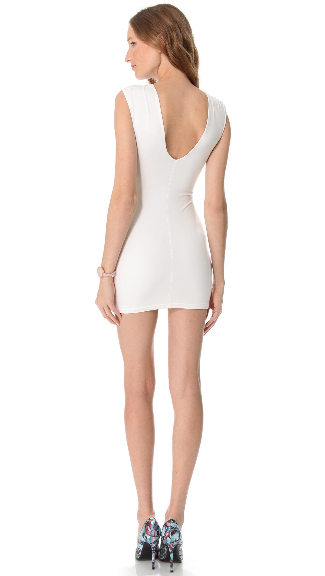 Lyst Bec Amp Bridge Reversible Body Dress In White