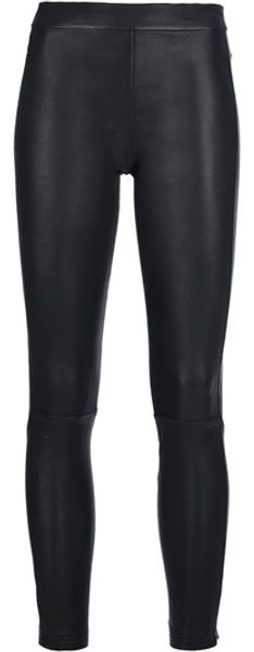Givenchy Lamb Skin Trouser in Black