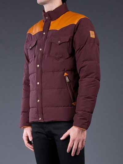Penfield Stapleton Jacket in Burgundy (Purple) for Men
