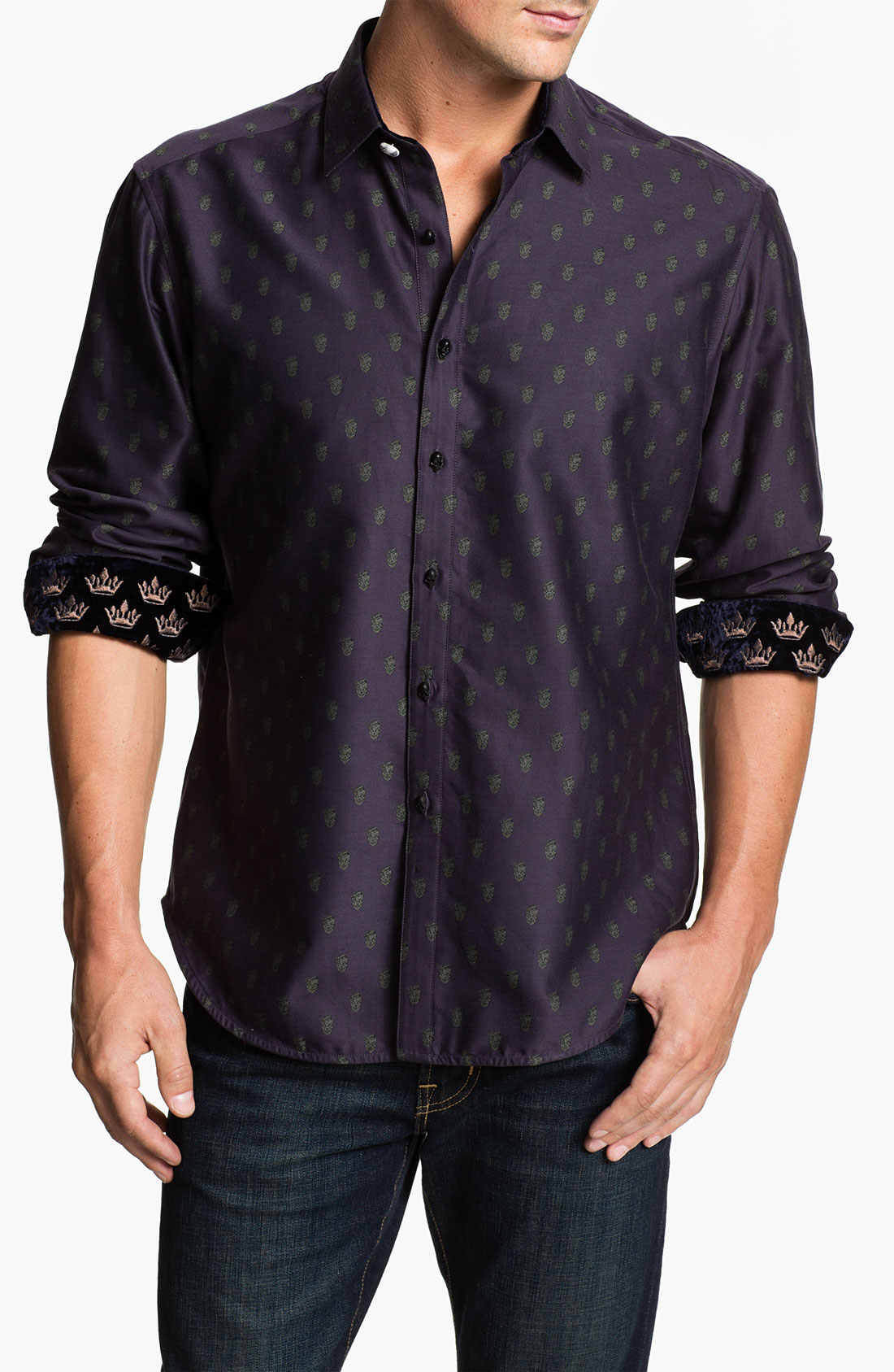 Robert Graham Tyrion Limited Edition Sport Shirt In Purple