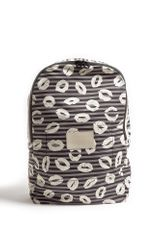 Marc By Marc Jacobs Stripe and Kisses Packable Backpack