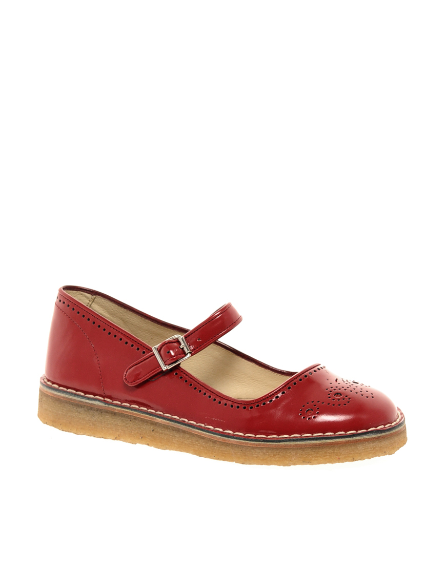Valentino Shoes Red Flat
