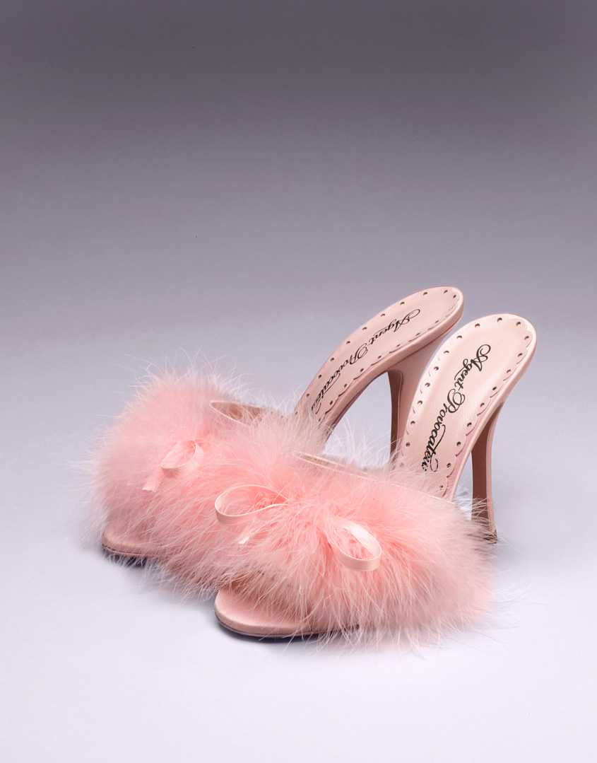 Agent Provocateur Loleata Mules In Pink (blush)