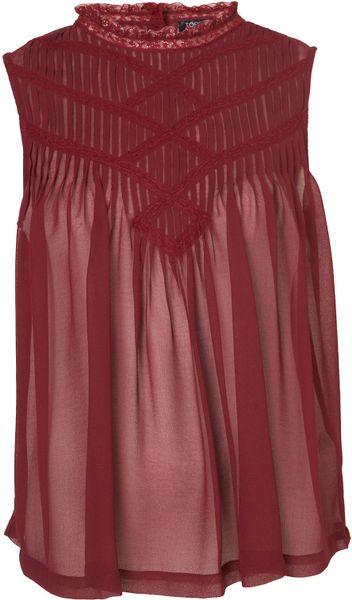 Zara High Neck Lace Blouse 90