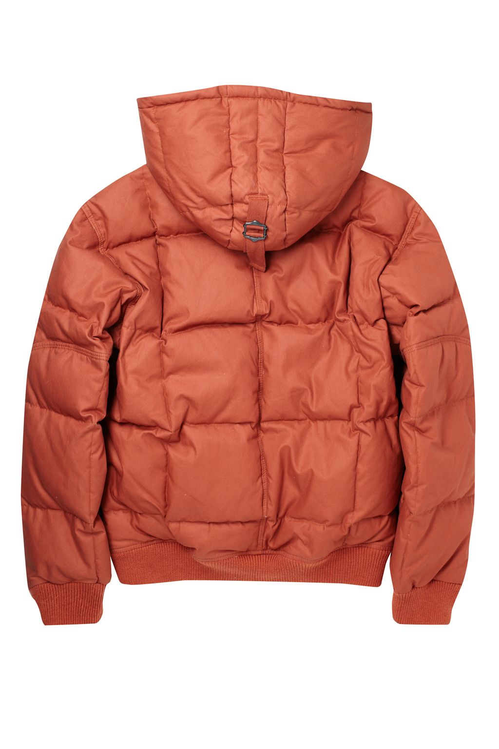 French Connection Windfall Wadded Jacket in Orange for Men