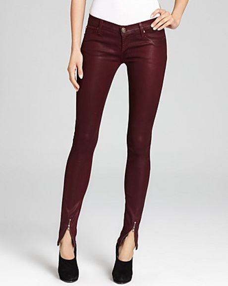 Retrosuperfuture Hudson Jeans Juliette Waxed Skinny With