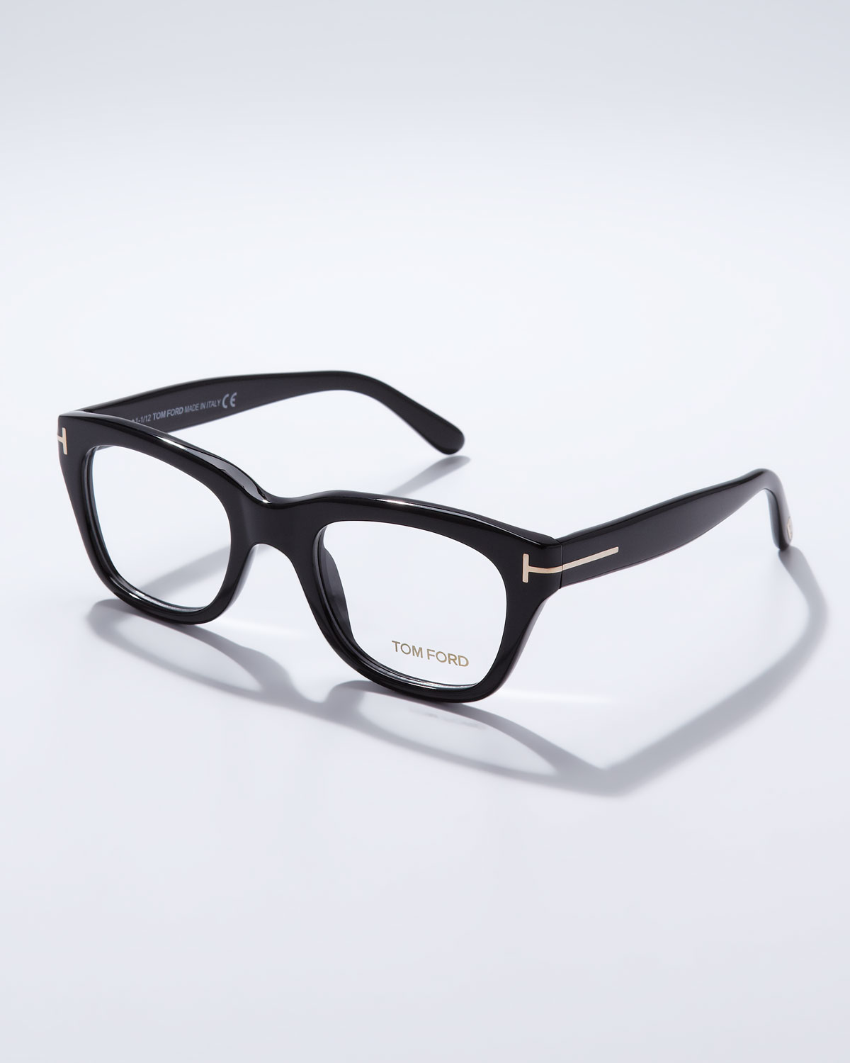fb17dba248f Lyst - Tom Ford Large Acetate Frame Fashion Glasses in Black for Men