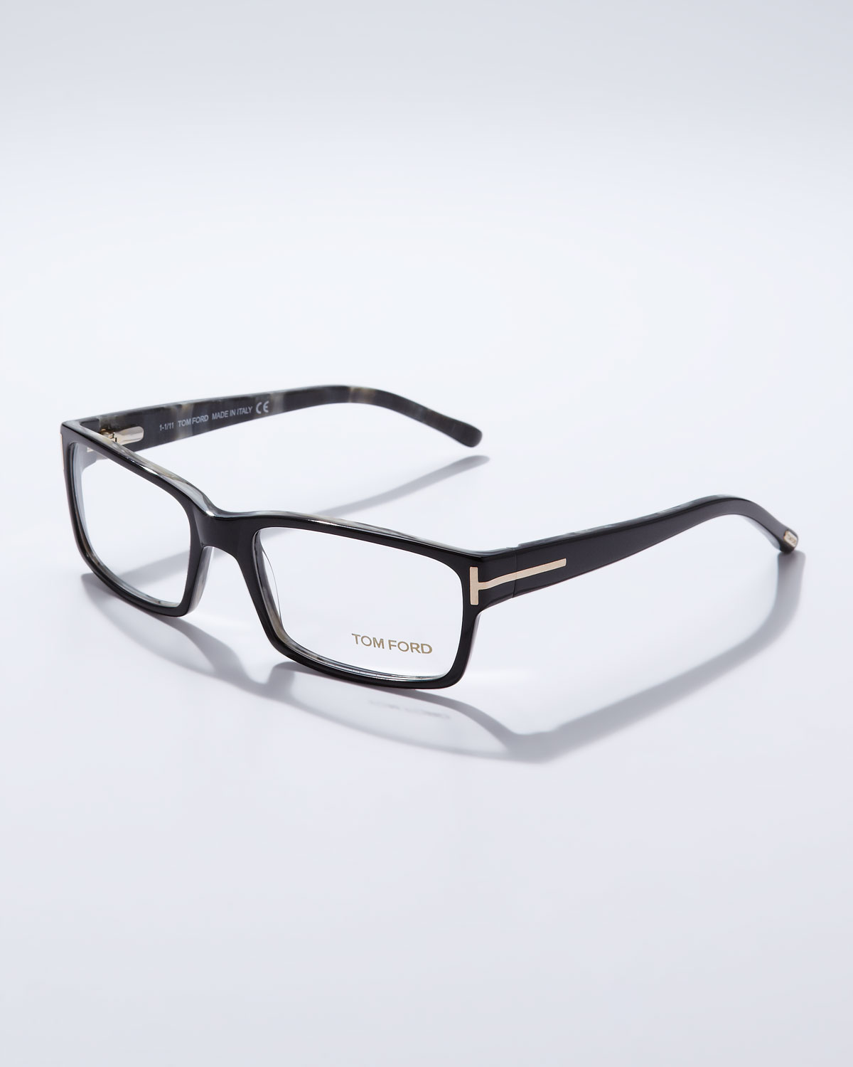 a2f3a3b27f Lyst - Tom Ford Square Frame Fashion Glasses in Black for Men