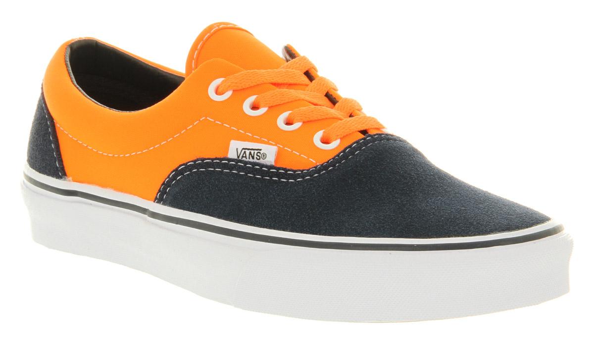 Lyst - Vans Era Neon Orange Dress Blue in Orange for Men b559145f0