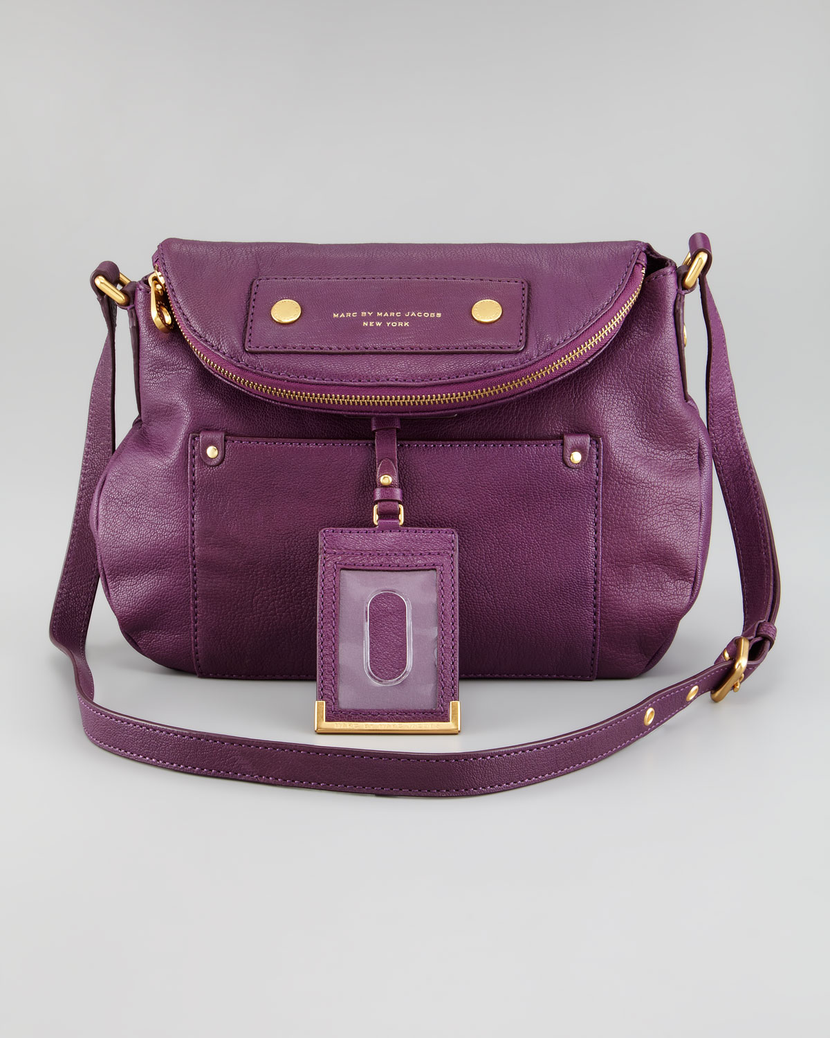 69ac214a0c Marc By Marc Jacobs Preppy Leather Natasha Bag in Purple - Lyst