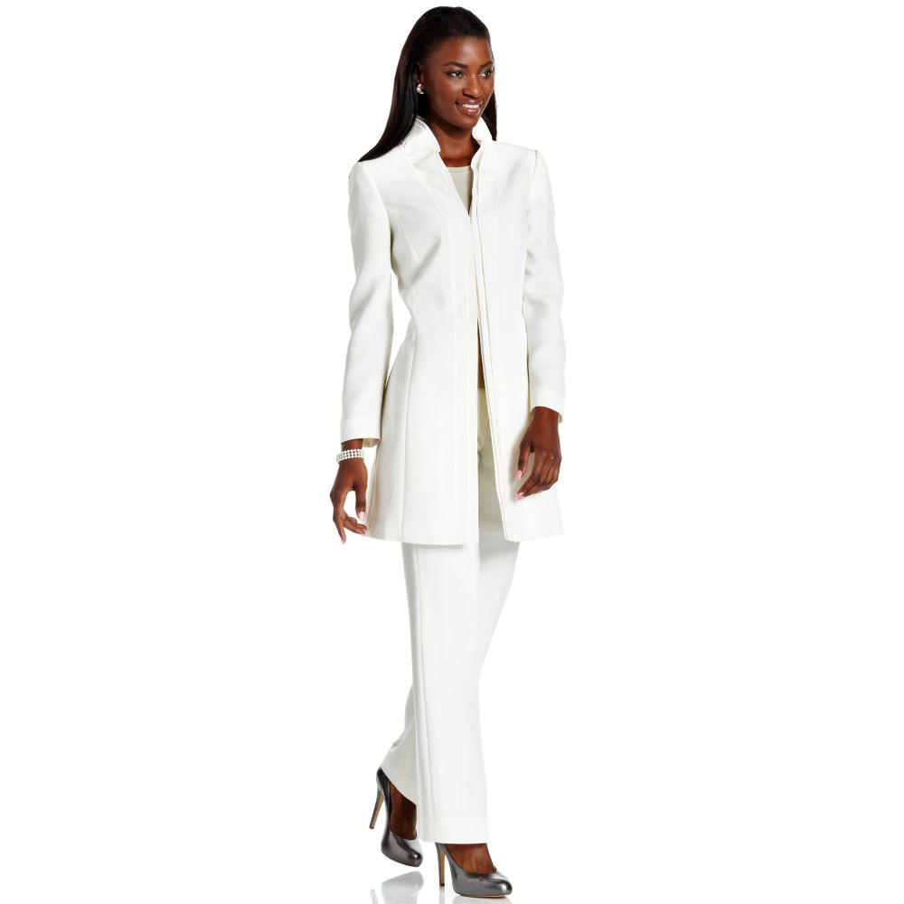 Womens long jacket suits