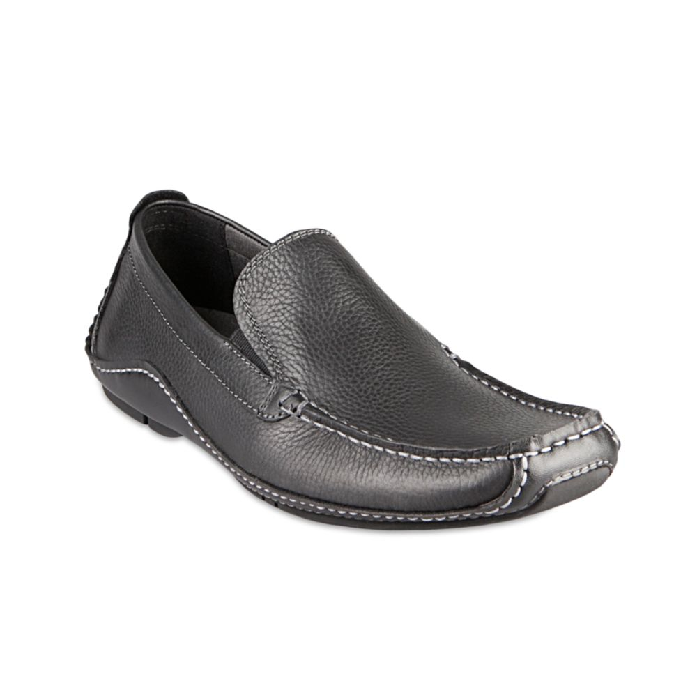 Steve madden Rocckit Loafers in Black for Men (black ...