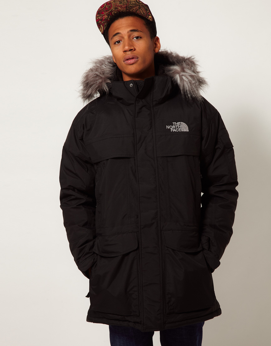 The North Face Mcmurdo Parka In Black For Men Lyst