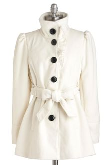ModCloth Each and Ivory Time Coat - Lyst