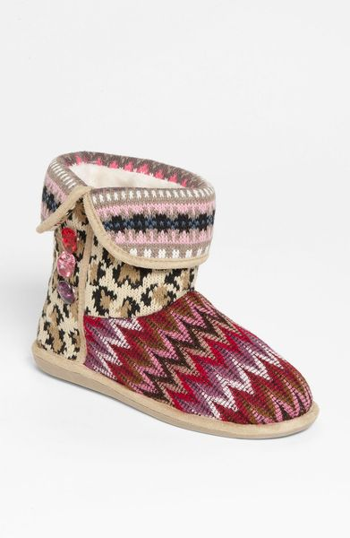 Steve Madden Melodiee Slipper in Multicolor (taupe multi) - Lyst