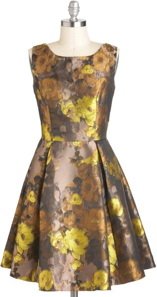 ModCloth Good Impressionism Dress - Lyst