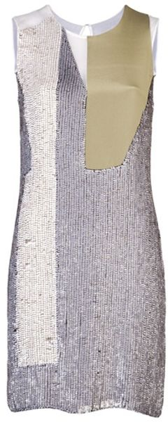 3.1 Phillip Lim Sleeveless Sequin Dress - Lyst