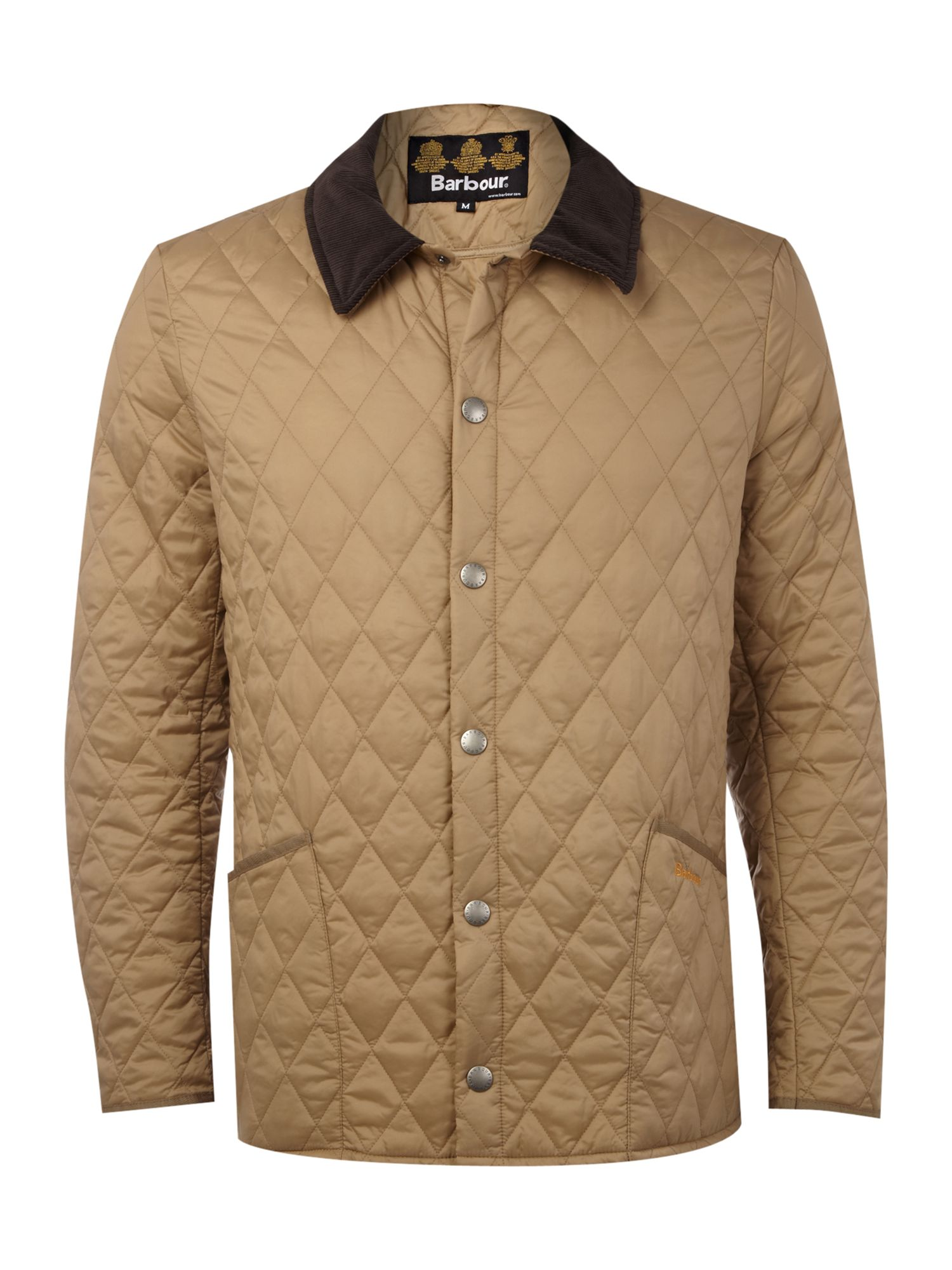 Barbour Lightweight Liddesdale Quilted Jacket in Natural for Men ...