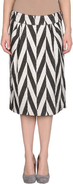 Dries Van Noten 34 Length Skirt in Black