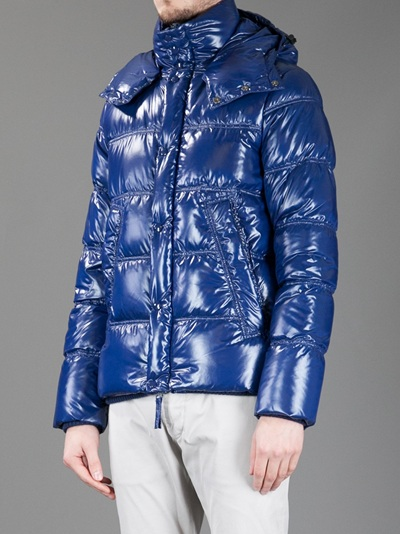 Duvetica Balio Padded Jacket in Blue for Men