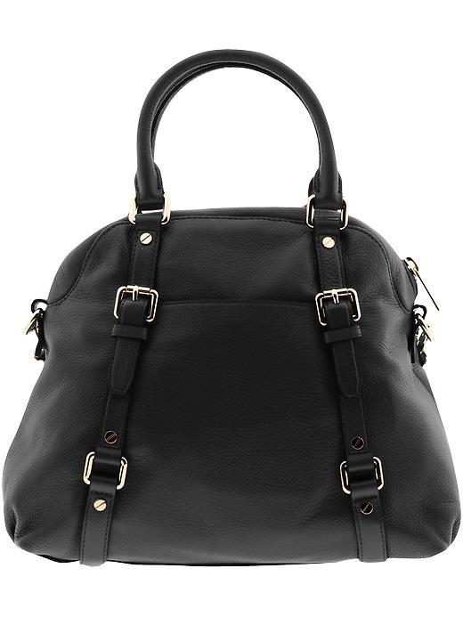 michael michael kors bedford large bowling satchel in black lyst. Black Bedroom Furniture Sets. Home Design Ideas