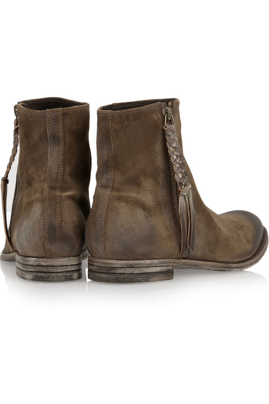 NDC Genna Brushedleather Boots in Chocolate (Brown)
