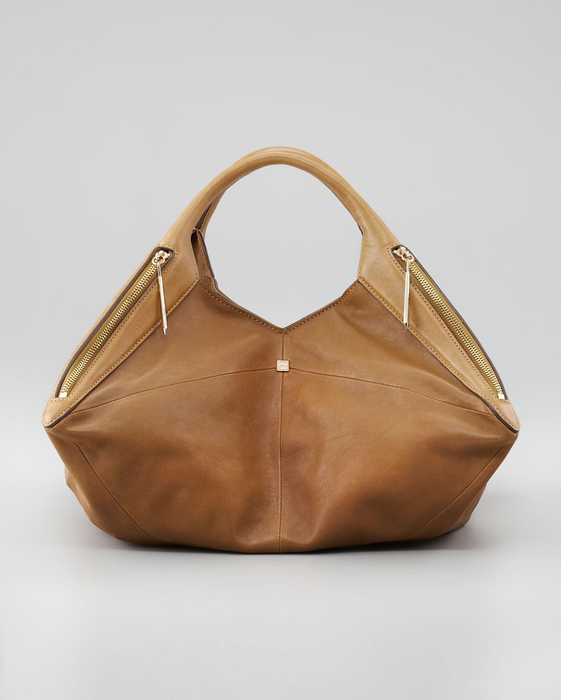 21eeb24768 Lyst - Pour La Victoire Nouveau Leather Satchel Bag in Brown